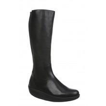 Maja Long Boot Black