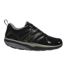 Leasha Trail Lace Up Black Steel